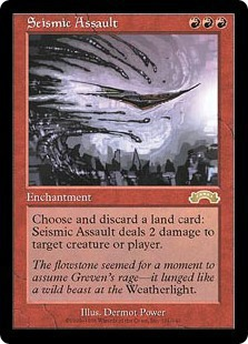 Seismic Assault / 突撃の地鳴り